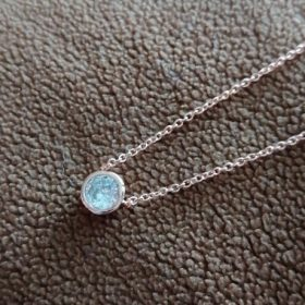 Round 1 carat Necklace photo review