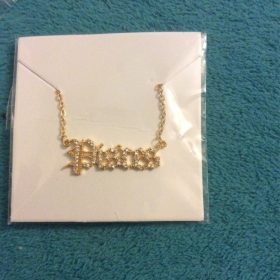 12 Zodiac Necklaces With Crystals photo review